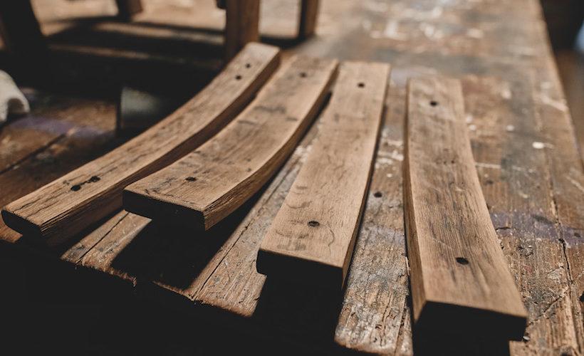 riciclo legno da botti