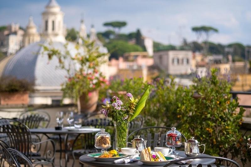 ristorante con terrazza